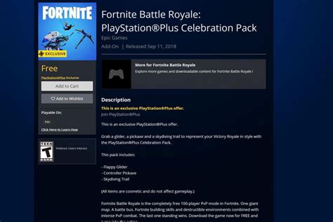 fortnite playstation  celebration pack fortnite