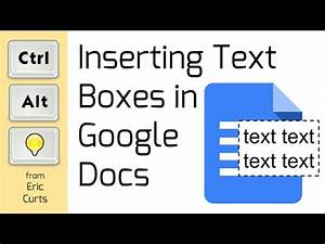 how to add text boxes to google documents google apps With how to add a textbox in google docs