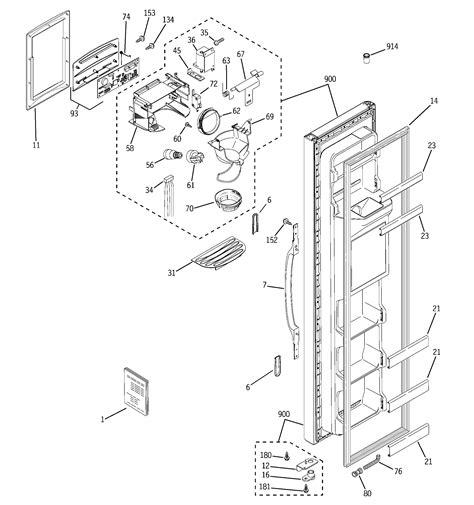 hotpoint refrigerator  series parts model hsmgfresa sears partsdirect