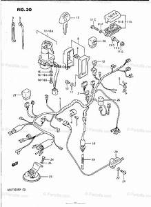 Suzuki Motorcycle 1991 Oem Parts Diagram For Wiring