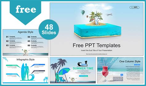 travel  vacation powerpoint templates