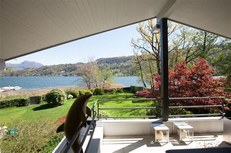 exclusive luxury waterfront villa schnebli  lake