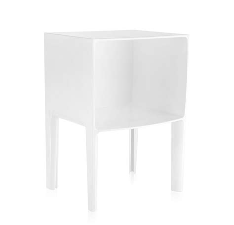 Comodini Kartell Ghost Buster by Kartell Comodino Small Ghost Buster Bianco Pmma