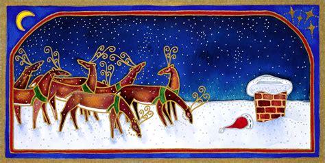 retro holiday card art the long goodbye