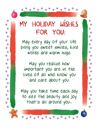 """Fun choices to make it personal. Funny Christmas Card - """"My Christmas Wishes"""" from CardFool.com"""