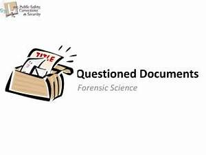 ppt dd form 1348 1a issue release receipt document With questioned documents investigation
