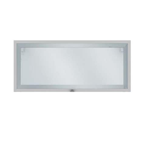 meubles de cuisine haut elia meuble de cuisine haut court 1 porte vitrée blanc