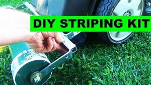Improved Diy Lawn Striping Kit For Honda Hrx217 Self
