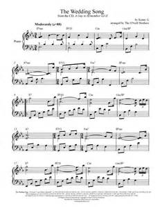 wedding song the wedding song piano wedding sheet preview play
