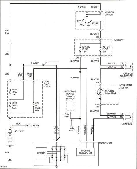 alternator wiring  miata turbo forum boost cars
