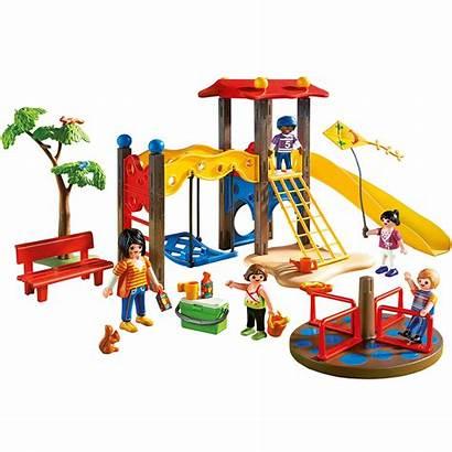 Playmobil Playground Play Pc Area Parque Infantil