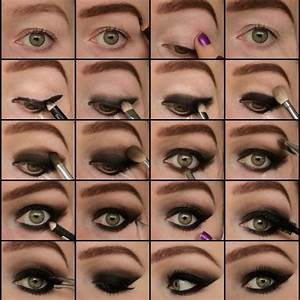 Smokey eye step by step | Face | Pinterest | Sexy, Step by ...