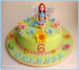Winx Club Birthday Cake