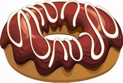 Donut Donuts Transparent Chocolate Flavours Lemon