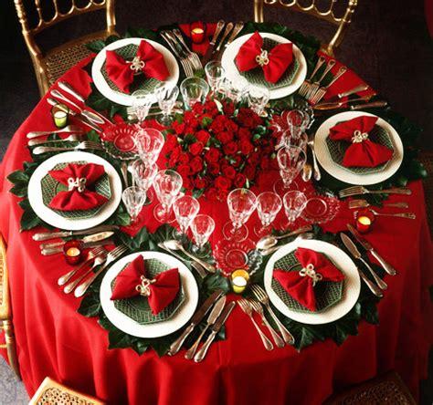 tavola a natale decorazioni addobbare la tavola per natale