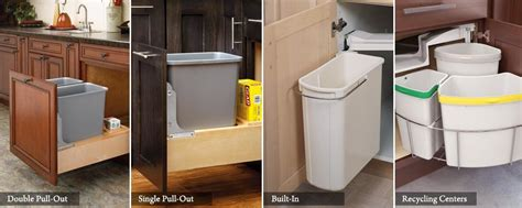 kitchen cabinet trash pull out pull out trash cans cabinetparts