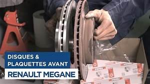 Changer Les Plaquettes : renault m gane changer les disques et plaquettes de frein avant youtube ~ Maxctalentgroup.com Avis de Voitures