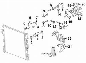 Chevrolet Traverse Cap  Engine  Reservoir  Coolant
