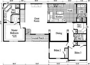 ranch style open floor plans gallery for gt ranch style floor plans