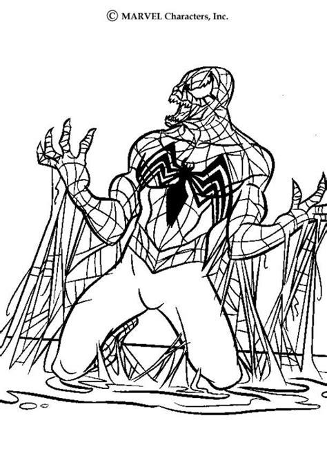 spider man coloring pages venom spiderman coloring