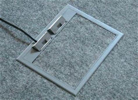 Hubbell Floor Box Extension electrical floor box