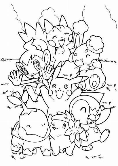 Ninja Pokemon Coloring Pages Grey Printable Bubakids