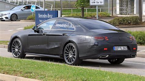 2018 Mercedes CLS spy photo photo