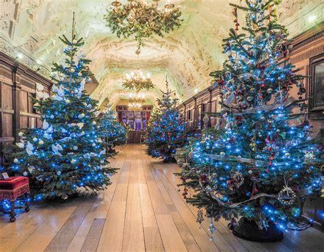 christmas  hever castle  kent  november