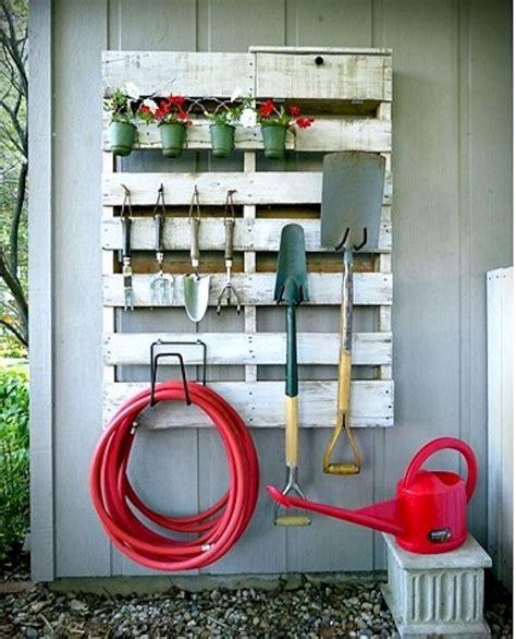 backyard storage ideas  pinterest small garage organization small sheds  shed