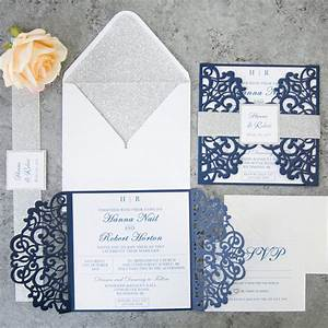 ten most gorgeous navy blue wedding color palette ideas With navy blue wedding invitations canada