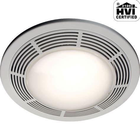 bathroom fan light replacement nutone 8664rp white 100 cfm 3 5 sone ceiling mounted hvi