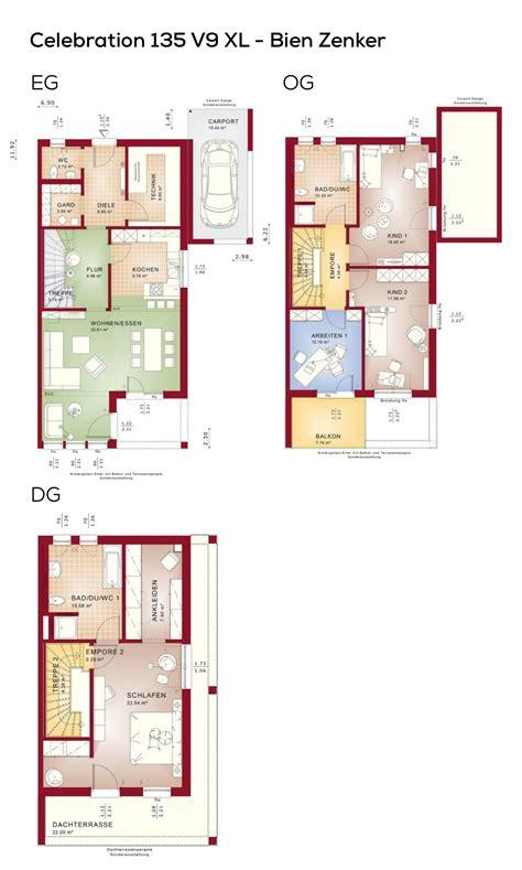 Doppelhaushälfte Grundrisse Modern by Grundriss Doppelhaush 228 Lfte Modern Mit Flachdach