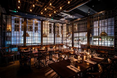 londons  private dining rooms average joes