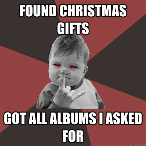found christmas gifts got all albums i asked for metal