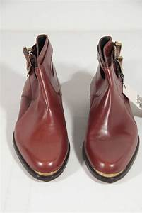 Italian Clothing Size Chart Gianni Versace Italian Brown Leather Men Ankle Boots Shoes