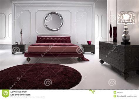 les tapis de chambre a coucher chambre à coucher en cuir luxueuse image stock