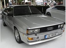 1980 Audi Quattro This car started the all wheel drive