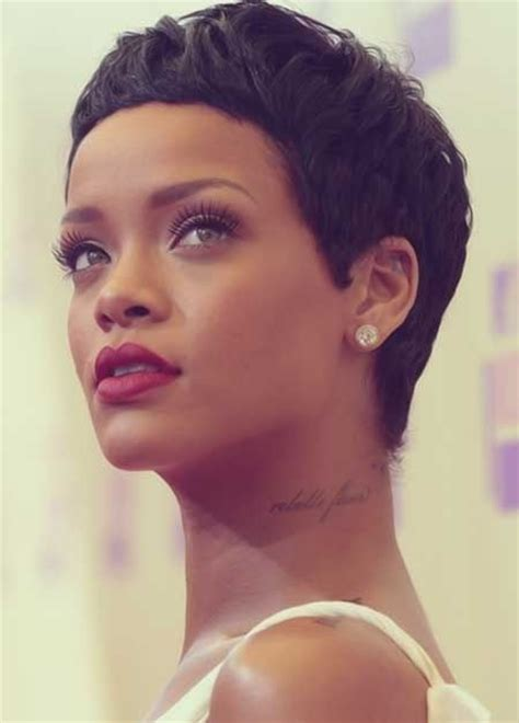 pixie haircuts for black hair 176 best images about rihanna on rihanna 3534