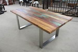 Tisch Aus Bohlen : tisch aus recyceltem holz der tischonkel ~ Sanjose-hotels-ca.com Haus und Dekorationen