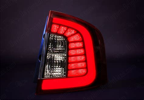 drive bright ford edge led light set shadow black