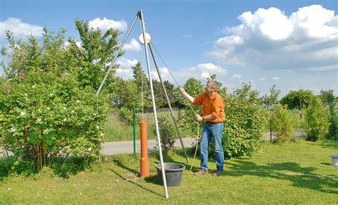 Brunnen Bohren  Wasser Im Garten & Teich Selbstde