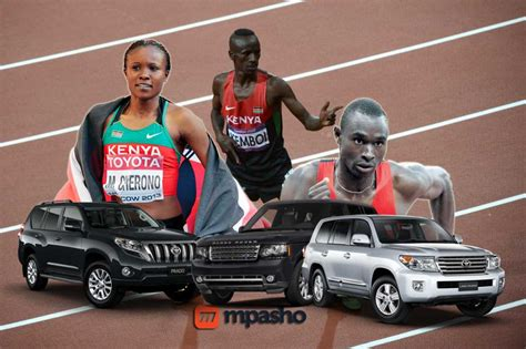 Here Are The Expensive Cars Millionaire Kenyan Athletes