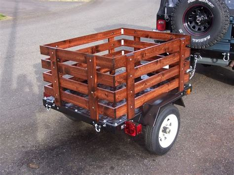 Harbor Freight Utility Trailer Mod With Fenced Enclosure