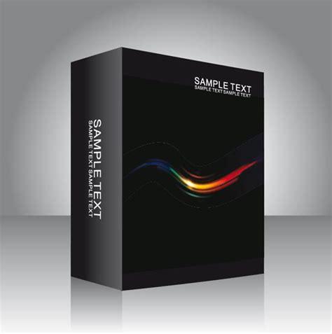software box vector templates