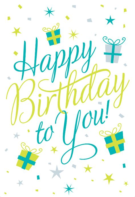 happy birthday   birthday card