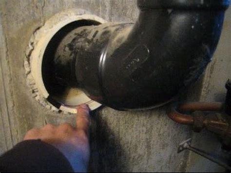 rain water coming    pvc sleeve  sewer pipe