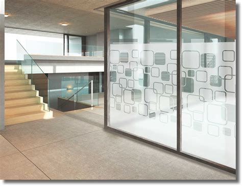 Sichtschutzfolie Fuer Fenster by Fenster Sichtschutzfolie Mit Motiv Quot Lounge Dekor Quot