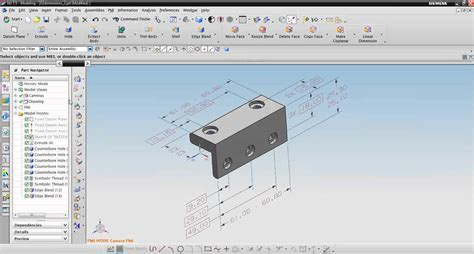 NX CAD-Intro to Product and Manufacturing Information( PMI