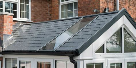 Gable Conservatory with Ultraroof from Clearview