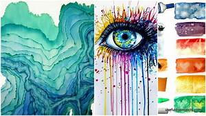 15 Watercolor Painting Ideas You Can Do At Home - Useful ...